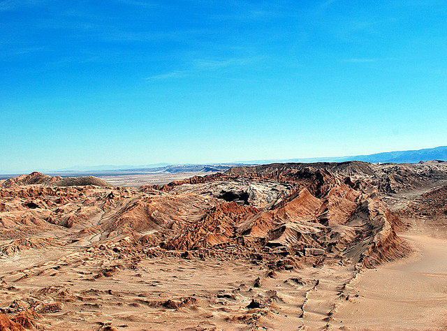 Death Valley outside of San Pedro de Atacama, Chile