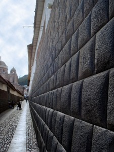 Incan wall in Cuzco, Peru