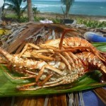 San Andres - Lobster lunch