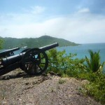 Santa Catalina, fort and canon