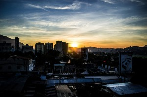 Caracas at sunrise
